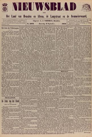 Nieuwsblad het land van Heusden en Altena de Langstraat en de Bommelerwaard 1910-09-03