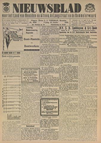 Nieuwsblad het land van Heusden en Altena de Langstraat en de Bommelerwaard 1929-10-18