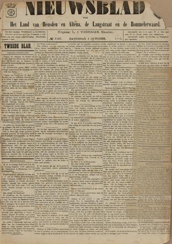 Nieuwsblad het land van Heusden en Altena de Langstraat en de Bommelerwaard 1892-10-01