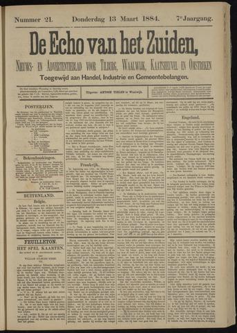 Echo van het Zuiden 1884-03-13