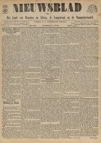 Nieuwsblad het land van Heusden en Altena de Langstraat en de Bommelerwaard 1904-06-04