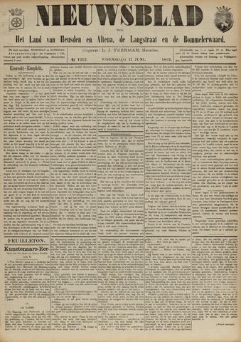 Nieuwsblad het land van Heusden en Altena de Langstraat en de Bommelerwaard 1893-06-21