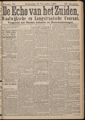 Echo van het Zuiden 1907-11-21