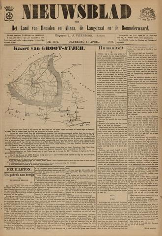 Nieuwsblad het land van Heusden en Altena de Langstraat en de Bommelerwaard 1896-04-11