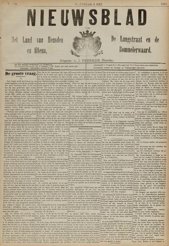 Nieuwsblad het land van Heusden en Altena de Langstraat en de Bommelerwaard 1891-05-06