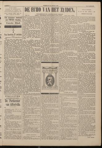 Echo van het Zuiden 1922-01-25