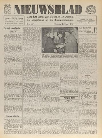 Nieuwsblad het land van Heusden en Altena de Langstraat en de Bommelerwaard 1949-03-21