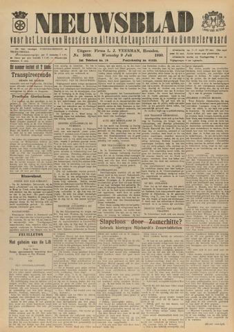 Nieuwsblad het land van Heusden en Altena de Langstraat en de Bommelerwaard 1930-07-09
