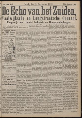Echo van het Zuiden 1912-08-08