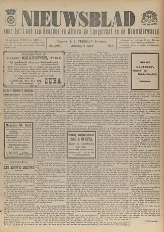 Nieuwsblad het land van Heusden en Altena de Langstraat en de Bommelerwaard 1919-04-05