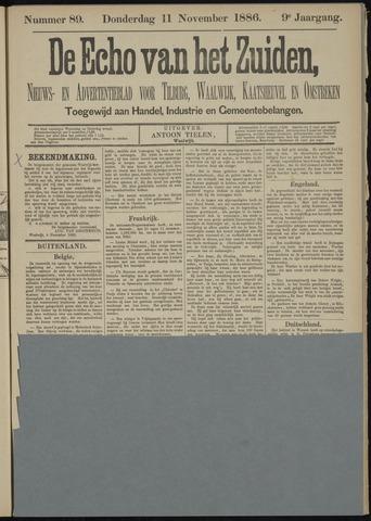 Echo van het Zuiden 1886-11-11