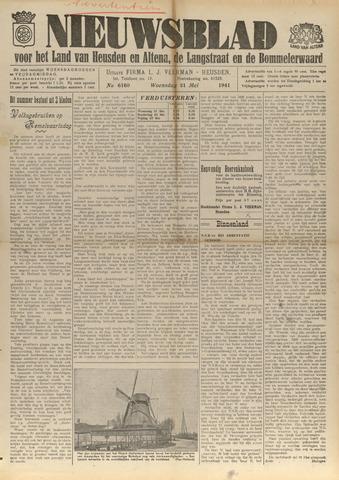 Nieuwsblad het land van Heusden en Altena de Langstraat en de Bommelerwaard 1941-05-21
