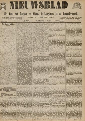 Nieuwsblad het land van Heusden en Altena de Langstraat en de Bommelerwaard 1902-07-16