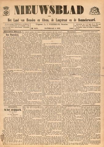Nieuwsblad het land van Heusden en Altena de Langstraat en de Bommelerwaard 1905-05-06