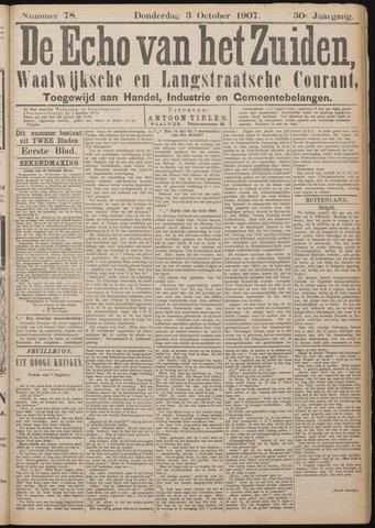 Echo van het Zuiden 1907-10-03
