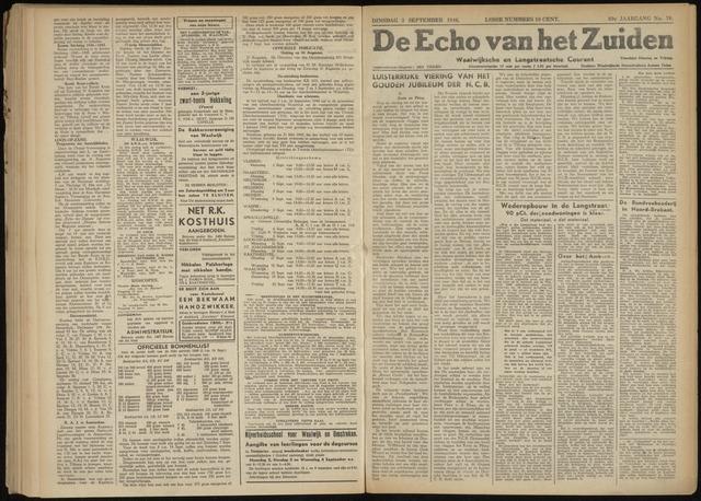 Echo van het Zuiden 1946-09-03