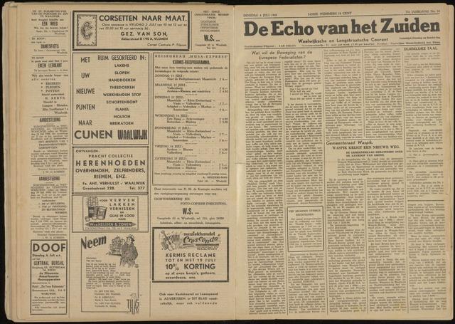 Echo van het Zuiden 1948-07-06