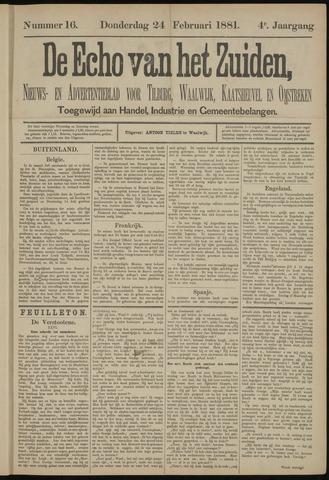 Echo van het Zuiden 1881-02-24