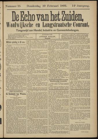 Echo van het Zuiden 1891-02-19