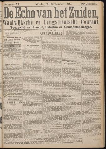 Echo van het Zuiden 1907-09-29