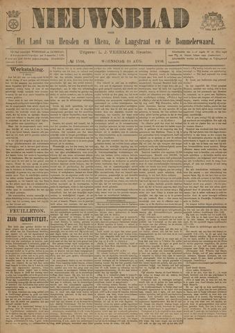 Nieuwsblad het land van Heusden en Altena de Langstraat en de Bommelerwaard 1896-08-26