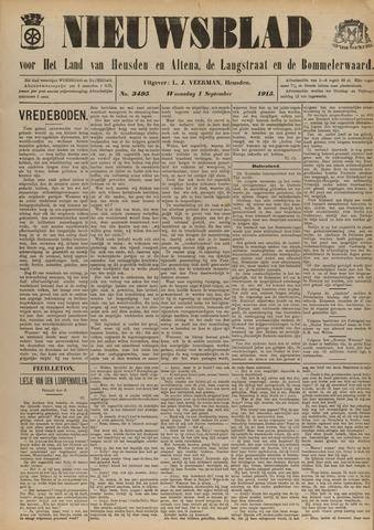 Nieuwsblad het land van Heusden en Altena de Langstraat en de Bommelerwaard 1915-09-01