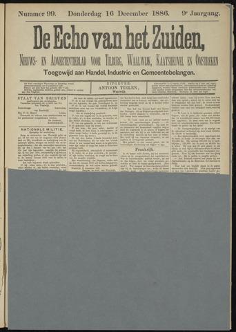 Echo van het Zuiden 1886-12-16