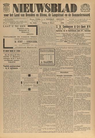 Nieuwsblad het land van Heusden en Altena de Langstraat en de Bommelerwaard 1934-03-09