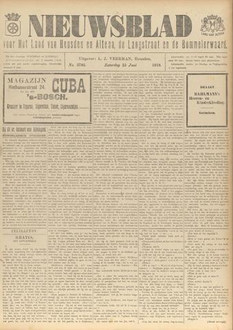 Nieuwsblad het land van Heusden en Altena de Langstraat en de Bommelerwaard 1918-06-15
