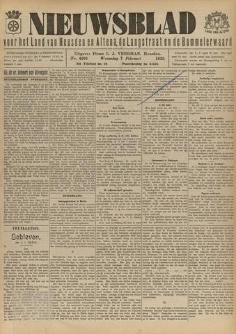 Nieuwsblad het land van Heusden en Altena de Langstraat en de Bommelerwaard 1923-02-07
