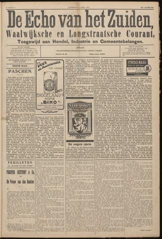 Echo van het Zuiden 1927-04-16