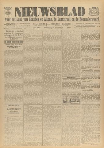 Nieuwsblad het land van Heusden en Altena de Langstraat en de Bommelerwaard 1932-12-07