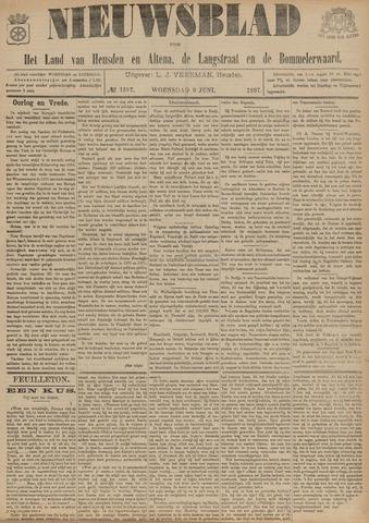Nieuwsblad het land van Heusden en Altena de Langstraat en de Bommelerwaard 1897-06-09