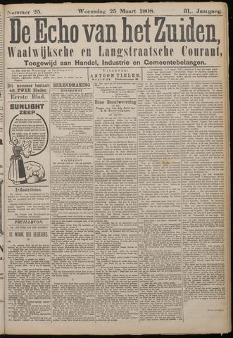 Echo van het Zuiden 1908-03-25