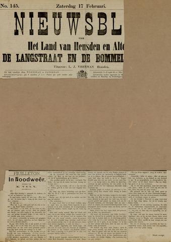 Nieuwsblad het land van Heusden en Altena de Langstraat en de Bommelerwaard 1883-02-17