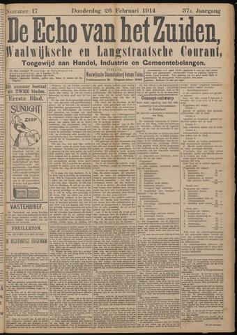 Echo van het Zuiden 1914-02-26
