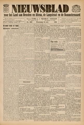 Nieuwsblad het land van Heusden en Altena de Langstraat en de Bommelerwaard 1936-07-22