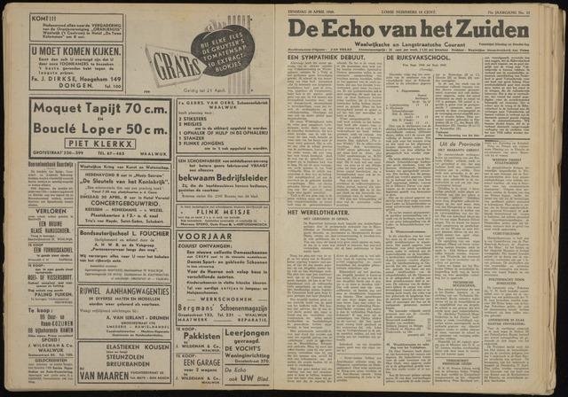 Echo van het Zuiden 1948-04-20
