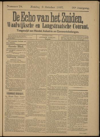 Echo van het Zuiden 1897-10-07