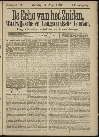 Echo van het Zuiden 1889-08-11