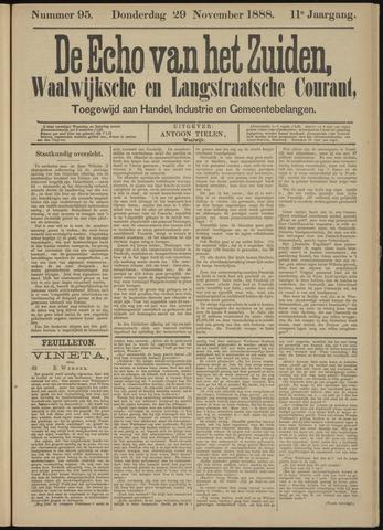 Echo van het Zuiden 1888-11-29