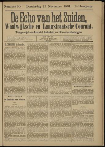 Echo van het Zuiden 1891-11-12