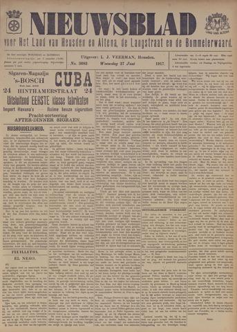 Nieuwsblad het land van Heusden en Altena de Langstraat en de Bommelerwaard 1917-06-27