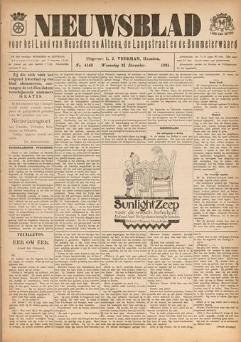 Nieuwsblad het land van Heusden en Altena de Langstraat en de Bommelerwaard 1921-12-21