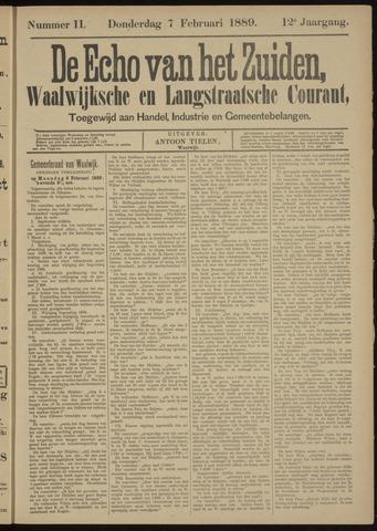Echo van het Zuiden 1889-02-07