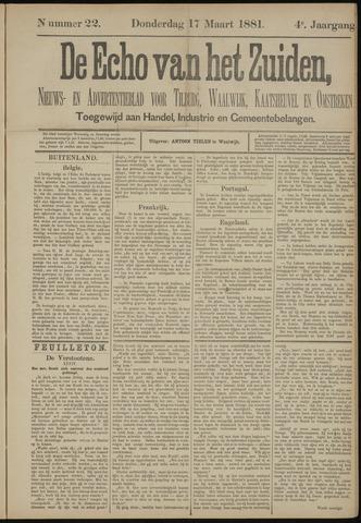 Echo van het Zuiden 1881-03-17