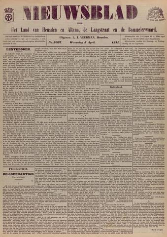 Nieuwsblad het land van Heusden en Altena de Langstraat en de Bommelerwaard 1911-04-05