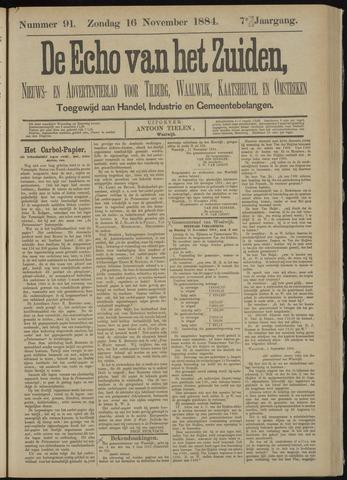 Echo van het Zuiden 1884-11-16