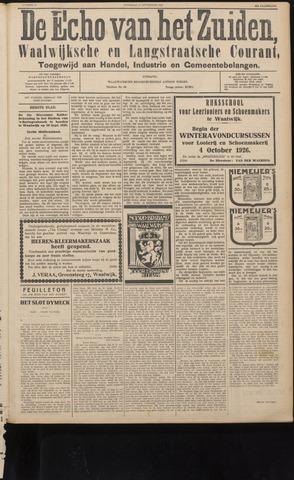 Echo van het Zuiden 1926-09-11