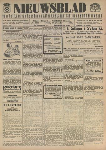 Nieuwsblad het land van Heusden en Altena de Langstraat en de Bommelerwaard 1929-12-27